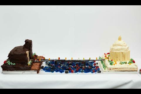Millennium Cake Bridge